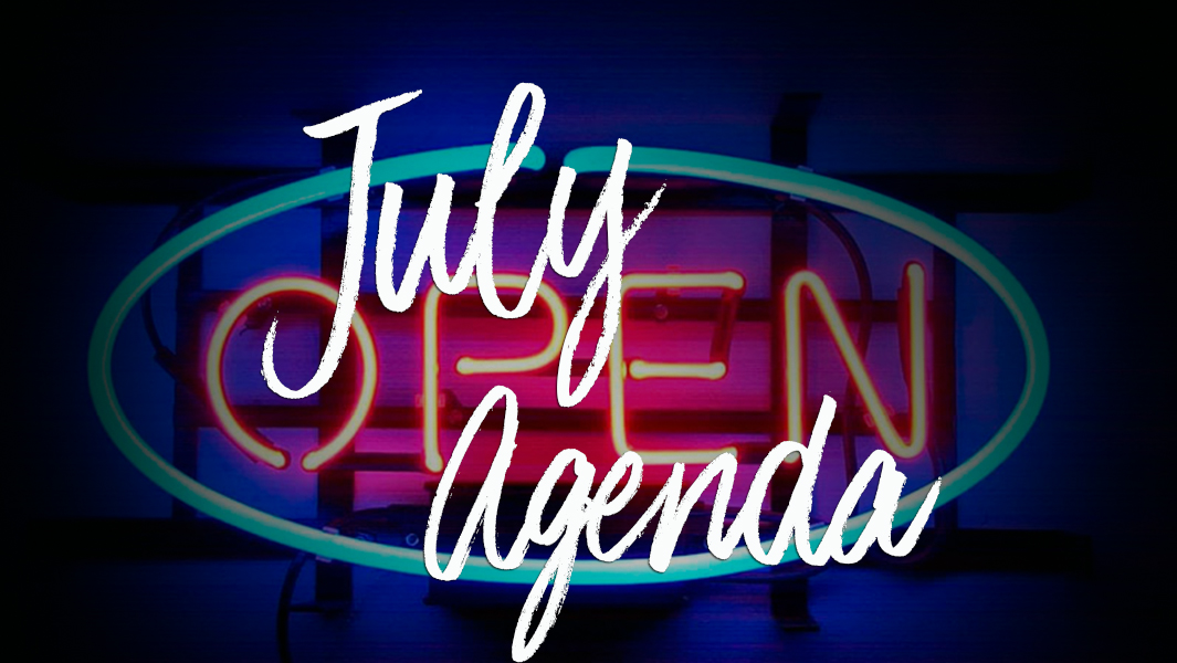 What you cannot miss in July!
