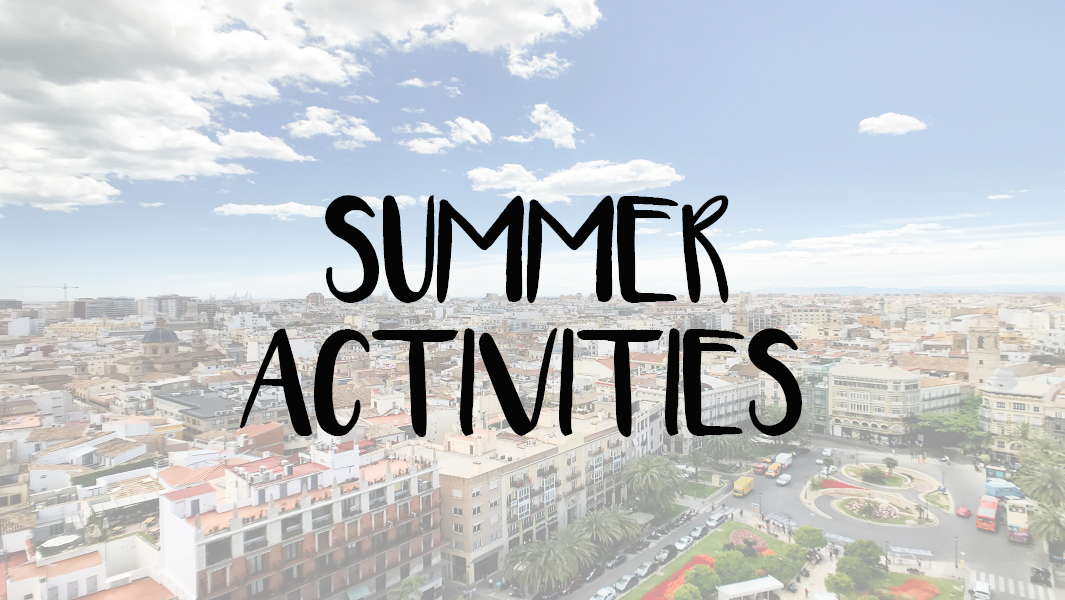 Valencia city tour: summer open-air
