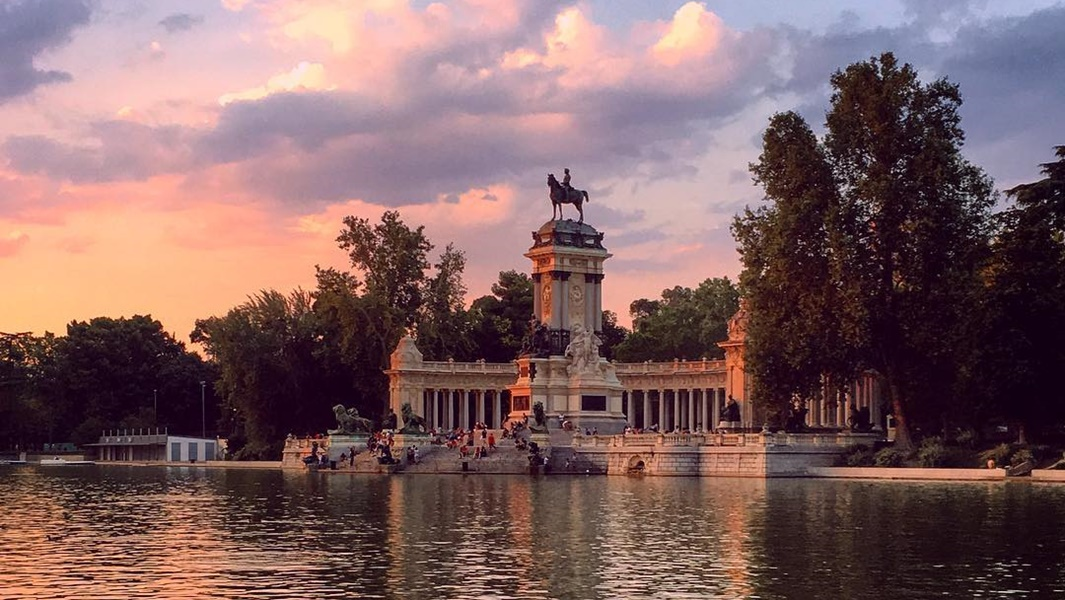 The most instagramable spots in the Retiro Park