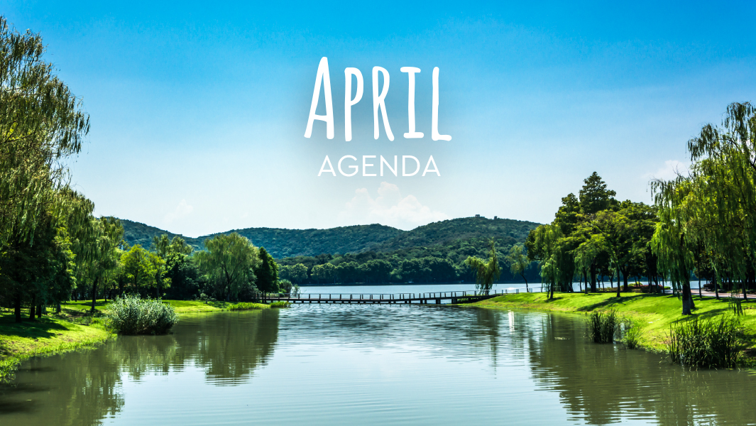 What you cannot miss in April!