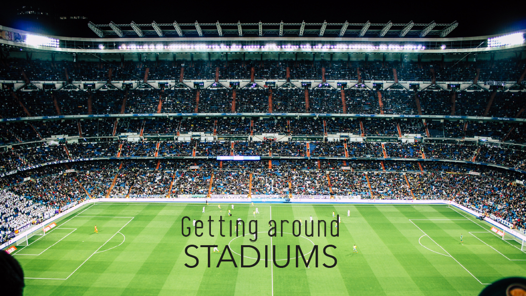 How many stadiums are there in Madrid?