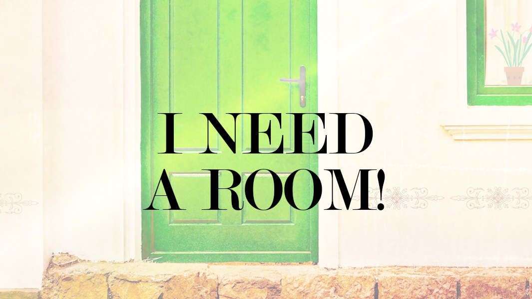 Room-hunting and more!