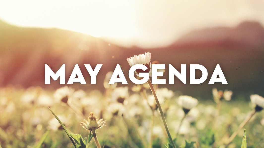 What you cannot miss in May!