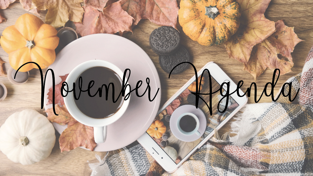 What you cannot miss in November!