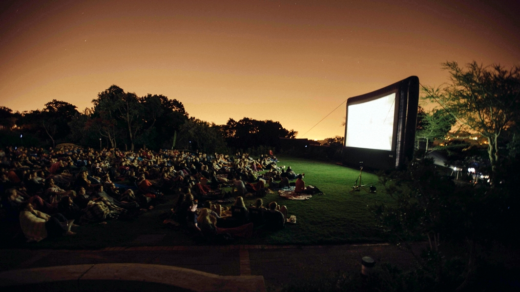 Movies under the stars
