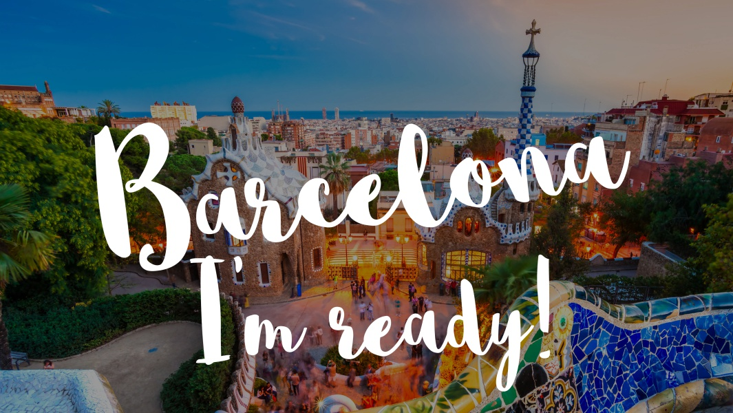 All you need to start your new life in Barcelona!