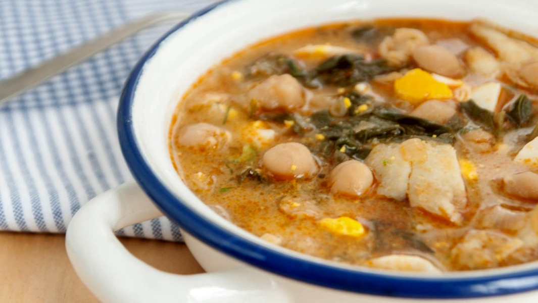 'Potaje', one of the Spanish traditional dishes of Semana Santa