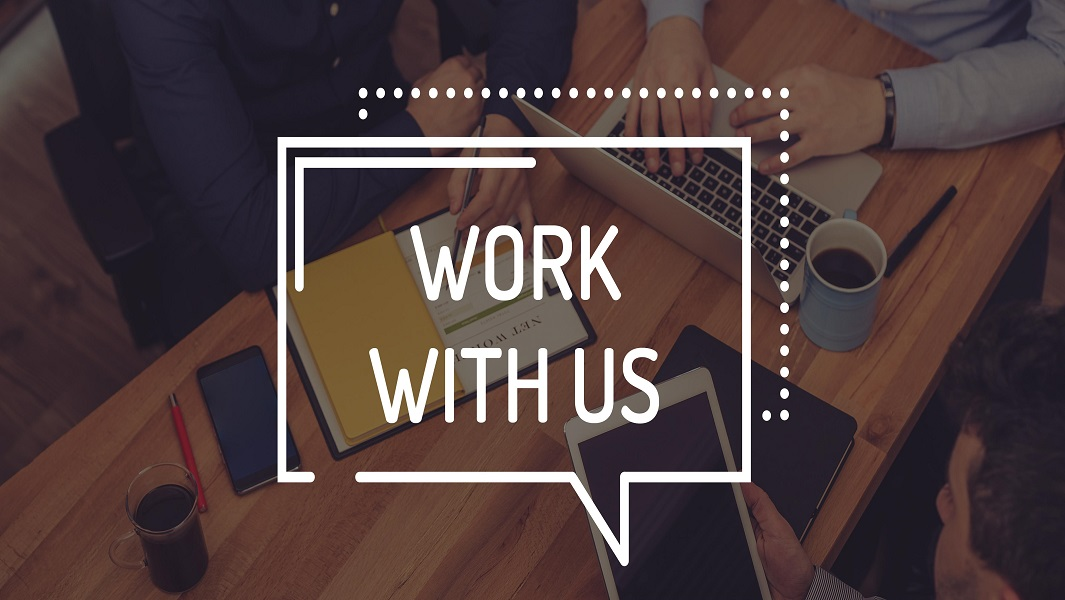 Work with us!